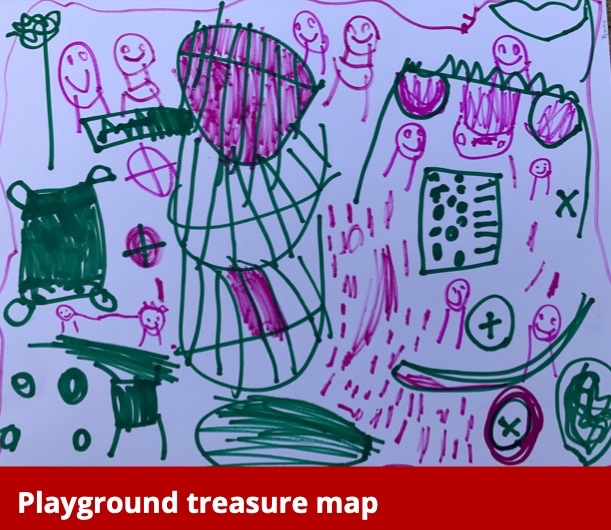 Playground Treasure Map